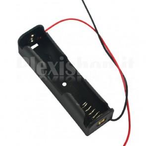 Portabatteria per una batteria di tipo 18650