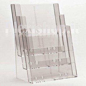 Triple A4 brochure holder