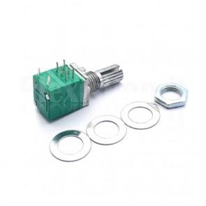 Potenziometro ALPS RV097GS B10K Duale con Switch