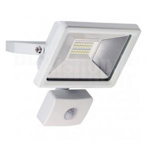 Proiettore LED da Esterno IP44 20W 1650 lm Bianco Freddo, Classe A+ Bianco