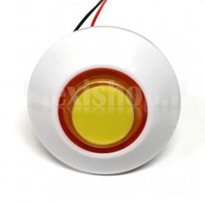 Pulsante a cupola luminoso con LED multicolore, 70mm 3A