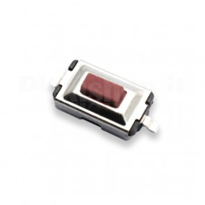 Pulsante TACT SMD Rosso 3x6x2.5