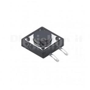 Pulsanti di tipo tact da circuito stampato, 12x12x6 mm
