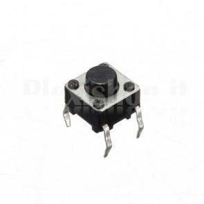 Pulsanti di tipo tact da circuito stampato, 6x6x6 mm