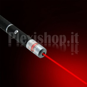 Puntatore laser a penna colore rosso 5mW