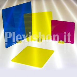 Colored Acrylic Square 100 x 100 mm