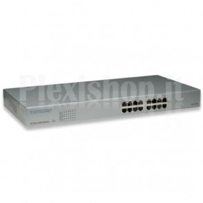Switch Fast Ethernet PoE da rack 16 porte, Classe 2, Endspan