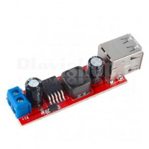 Regolatore di tensione DC-DC con due USB, 3A