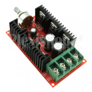 Speed controller for PWM motors, 10-50V 40A