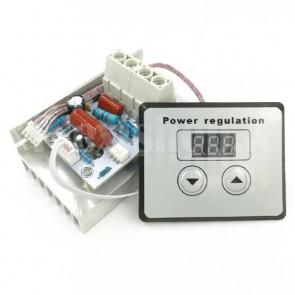 Regolatore Dimmer Digitale con SCR e Display LED, 10KW