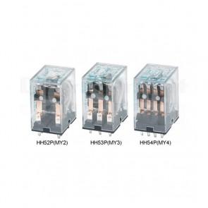 Relay industriale HH52P-DC12V innestabile su zoccolo, 12V 5A