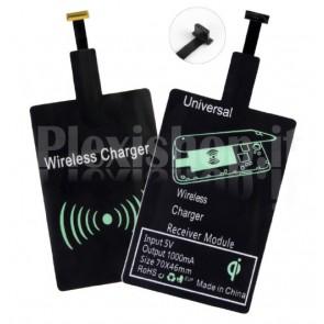 Ricevitore Ricarica Wireless per Smartphone Micro USB Tipo A