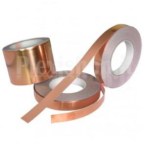 Rotolo di nastro adesivo in rame, 5mm