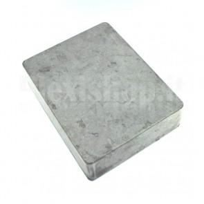 Scatola alluminio pedaliera 120x94.5x34