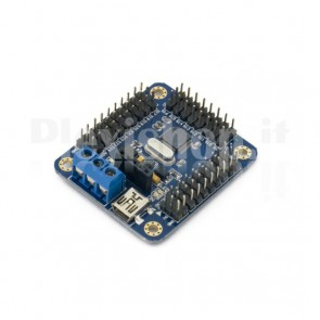 16-channels mini-USB control board