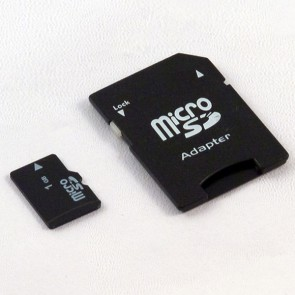 Micro SD card 1GB with SD adaptor