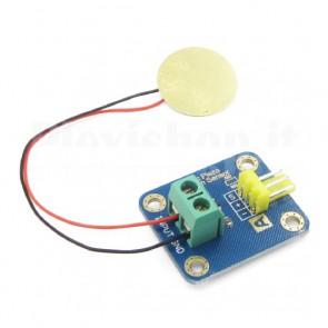 Sensore ceramico piezoelettico per Arduino