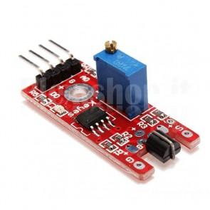 Sensore di contatto con chip LM393