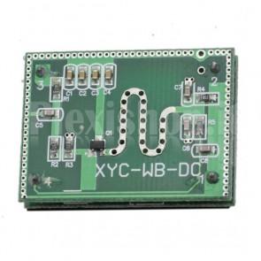 Sensore di prossimità a microonde rilevazione 3-8 m a 360°