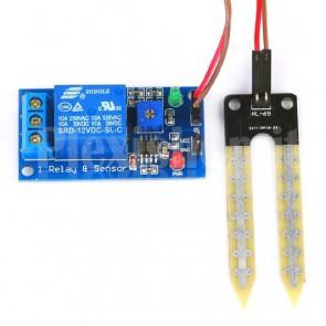 Sensore di umidità per irrigazione con relay