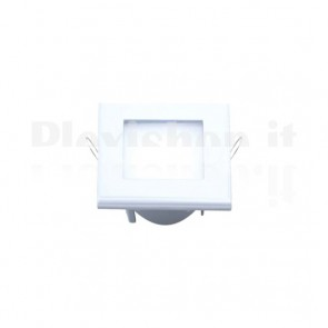 White Square Led Panel 110 x 110 mm 6W - Warm White