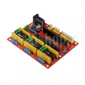 Shield CNC V4 a 3 assi per Arduino Nano