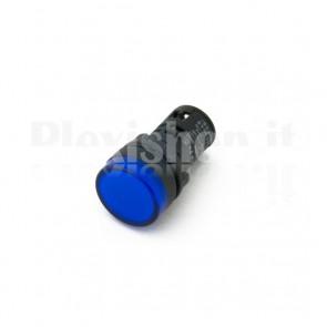 Spia luminosa da pannello Blu AD16-22D/S23