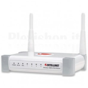 Router Wireless 300N, 4 porte Lan + porta WAN