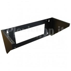 Staffa di Montaggio da Muro Verticale 19'' Easyline 4U Nero