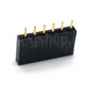 20pcs  Strip line maschio PIN 40 angolare 2mm