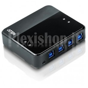 Super Hub per Condivisione 4 Periferiche su 4 PC USB3.0, US434