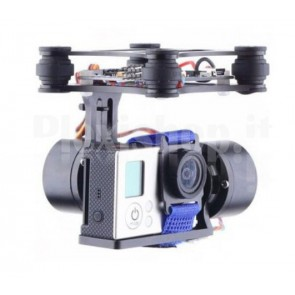 Supporto Gimbal a 2 assi per DJI Phantom e Walkera QRX350
