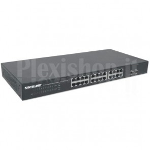 Switch Gigabit Ethernet 24 Porte + 2 Porte SFP