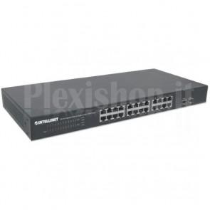 Switch Gigabit Ethernet 24 Porte + 2 Porte SFP