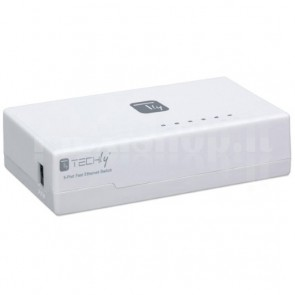 Switch Hub 10-100 Mbps Fast Ethernet 5 Porte