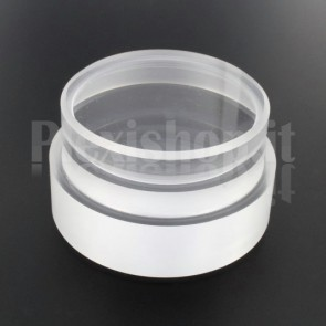 Tappo in plexiglass o-ring Ø 60(e)/54(i) mm