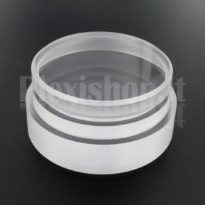 Tappo in plexiglass o-ring Ø 60(e)/54(i) mm