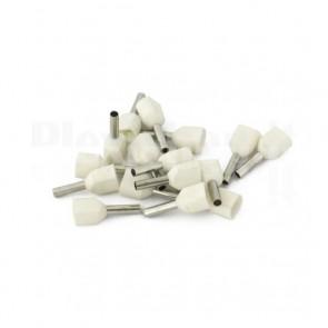 Puntale boccola doppio a crimpare - TE7508