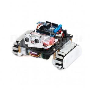 Telaio cingolato DIY motorizzato con encoder
