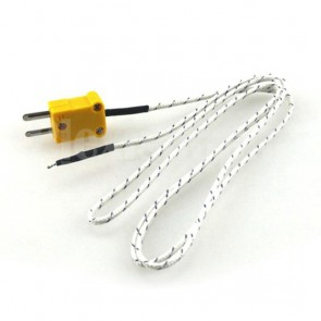 Thermocouple type K for temperatures from 20 to 400 °C