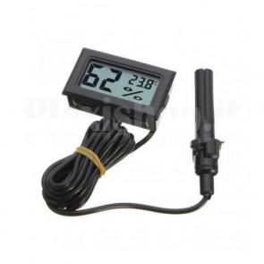Termometro igrometro LCD da pannello