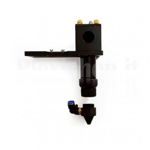 Testina laser a CO2 per lenti da 20mm e specchio da 25mm, FL  63.5-101.6mm