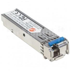 Transceiver Gigabit Fibra Ottica WDM (RX1550/TX1310) Bidirezionale SFP