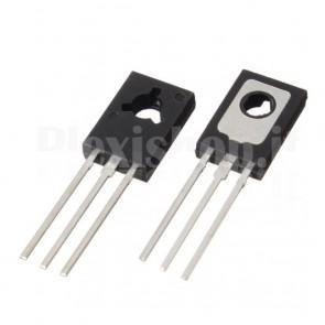 Transistor NPN BJT BD235 di Potenza