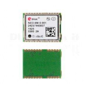 U-blox NEO-6M GPS chip