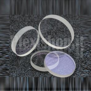 Vetro protettivo al quarzo per laser a fibra ottica, 25.4x4mm