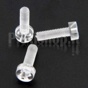 Acrylic Screw M3x10