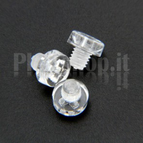 Acrylic Screw M3x3