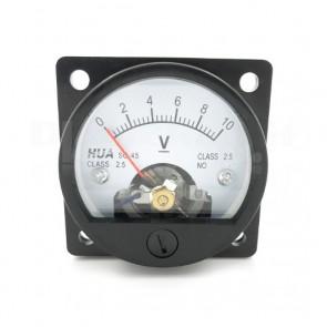 Voltometro Analogico da Pannello 0-10V CC