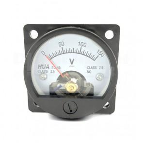 Voltometro Analogico da Pannello 0-150V CC